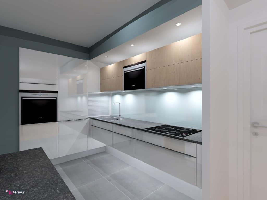 la cuisine esprit urbain lint rieur architecte d. Black Bedroom Furniture Sets. Home Design Ideas