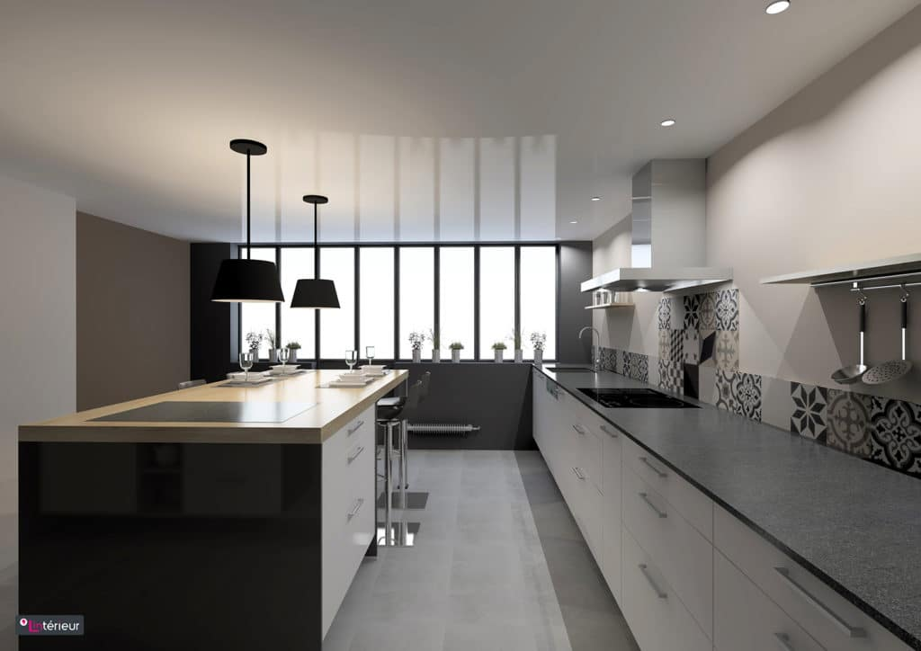cuisine esprit loft nantes lint233rieur architecte d