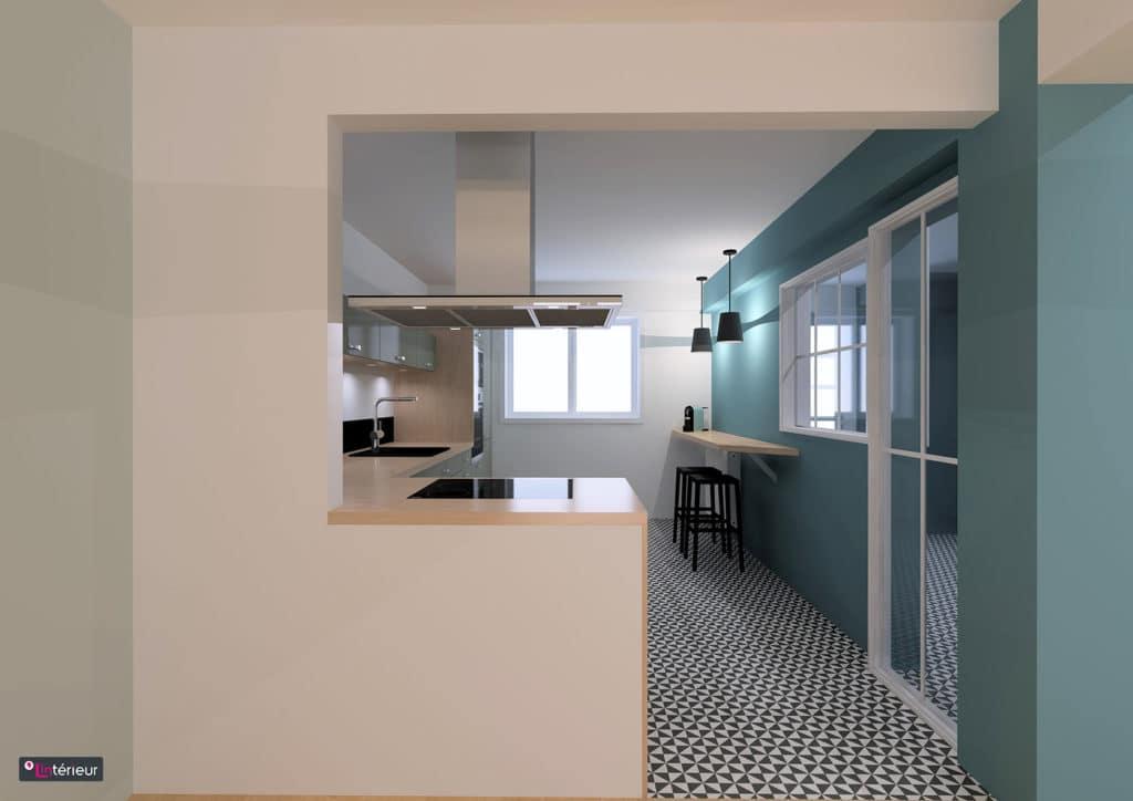 la cuisine esprit vintage. Black Bedroom Furniture Sets. Home Design Ideas